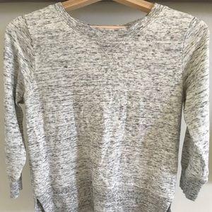 Club Monaco 3/4 sleeve sweatshirt
